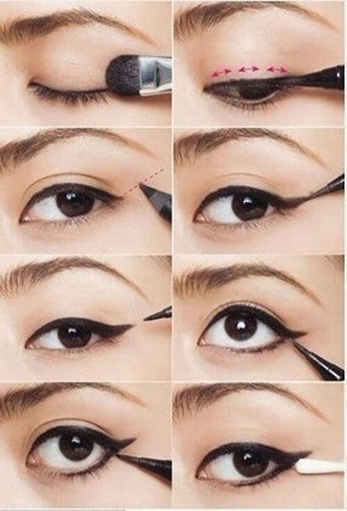 eyeliner nasil surulur