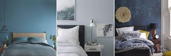 ev dekorasyonu mavi renk