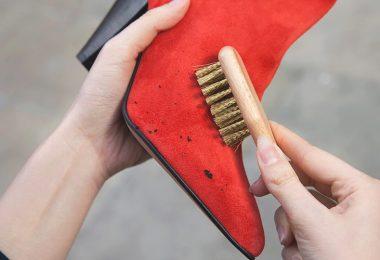 suet ayakkabi nasil temizlenir