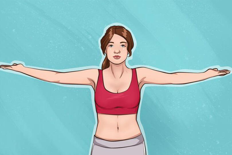 gogus ve kollar icin egzersiz hareketi