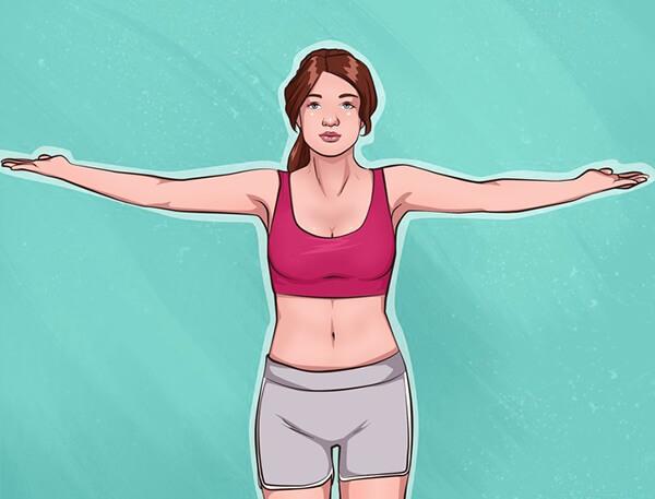 siki gogus ve kollar icin egzersiz hareketi