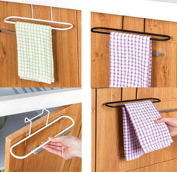 pratik dolap havlu askısı