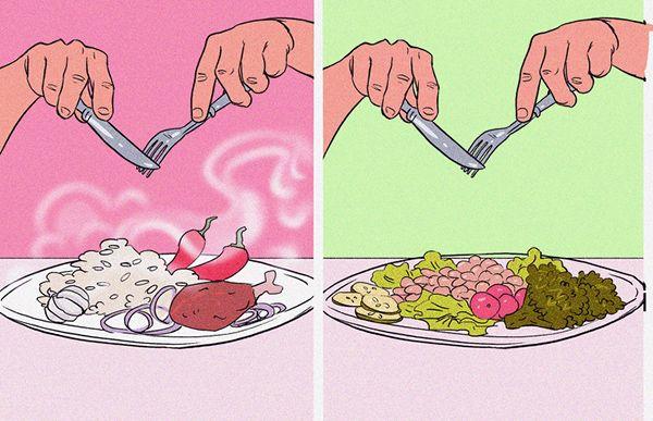 baharatli yiyeceklerden kacinin
