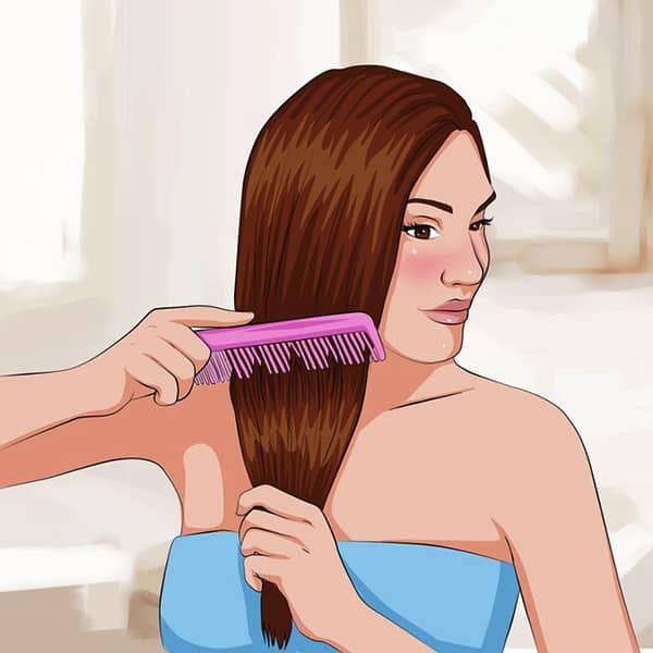 Saç düzleştirmenin doğal yolları
