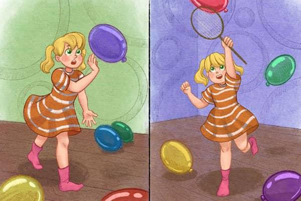 bebekler icin balon aktivitesi